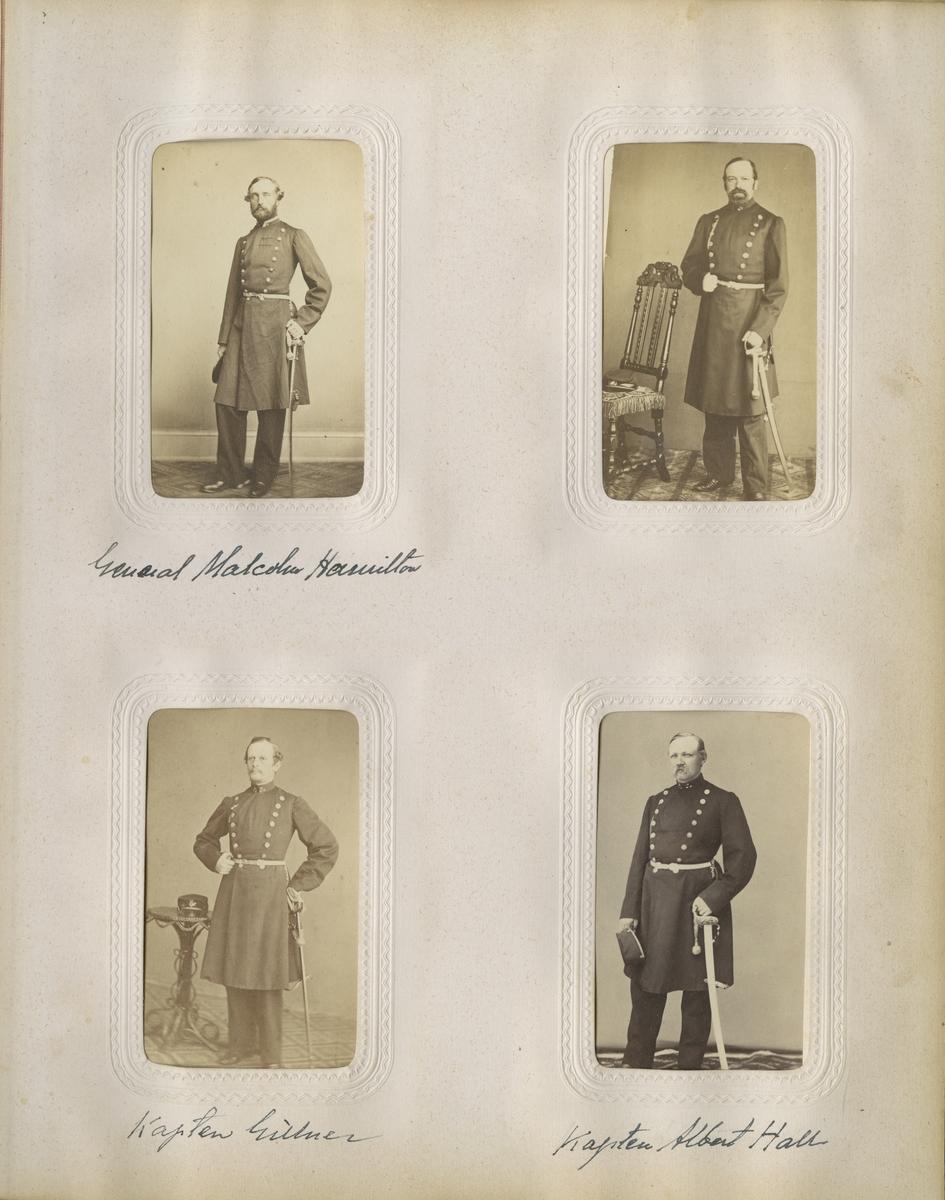 Porträtt av Johan Anatoleon Christer Settergren, kapten vid Västgöta regemente I 6.