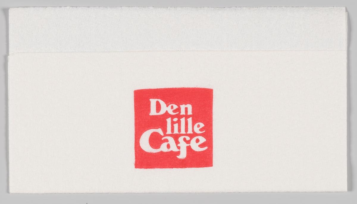 Reklametekst for Den lille Cafe.