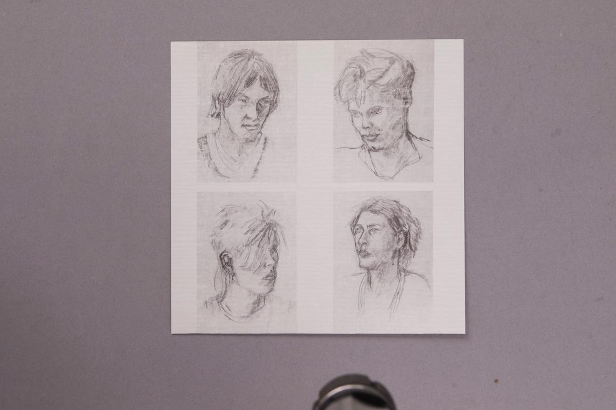 Singel-skiva av svart vinyl med vit pappersetikett, i omslag av papper, i plastficka. Inne i skivomslaget finns ett löst pappersark med fyra tecknade porträtt och produktionsuppgifter.  Innehåll: Besserwisser Dansa och le  JM 55199:1, Skiva JM 55199:2, Omslag JM 55199:3, Pappersark