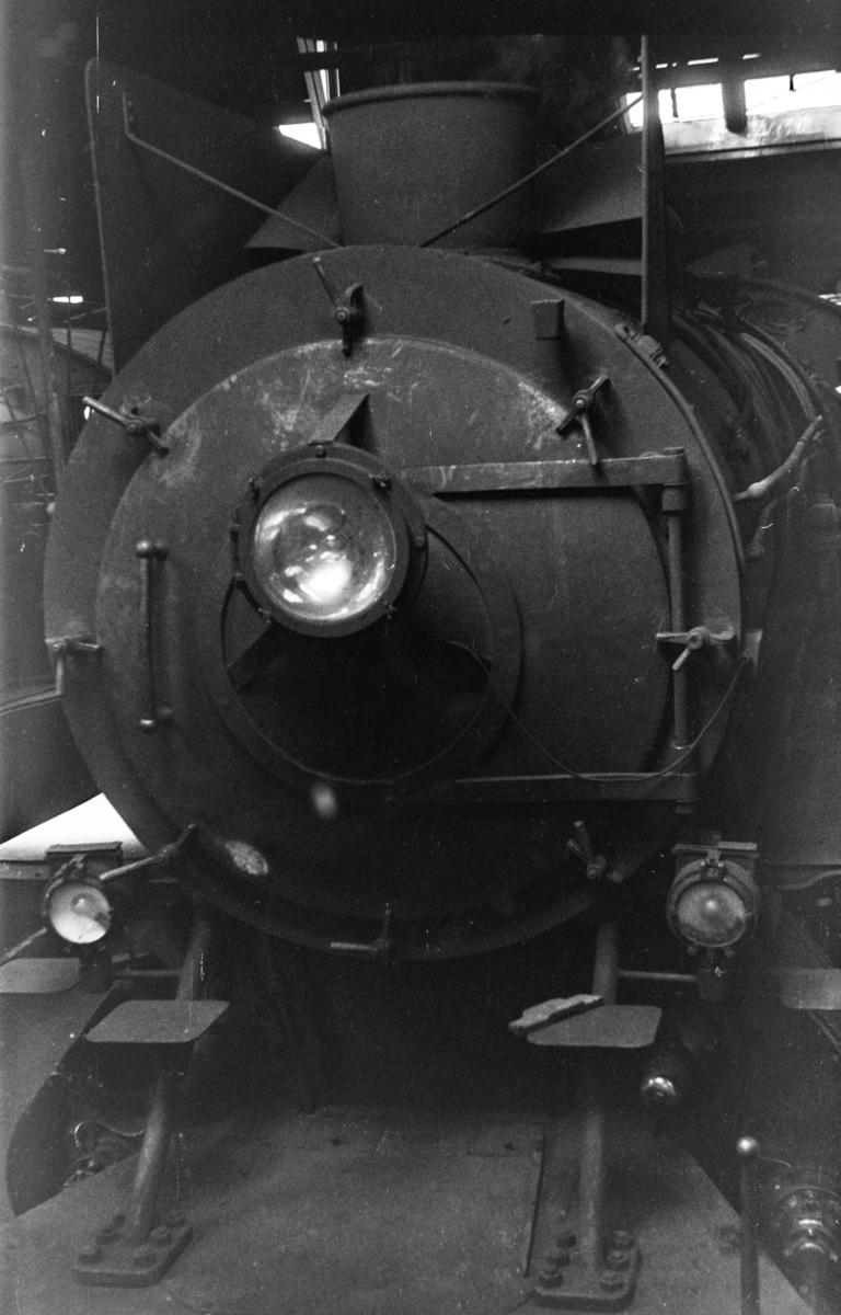 Damplokomotiv type 30b nr. 361 i Gamlestallen i Lodalen i Oslo.