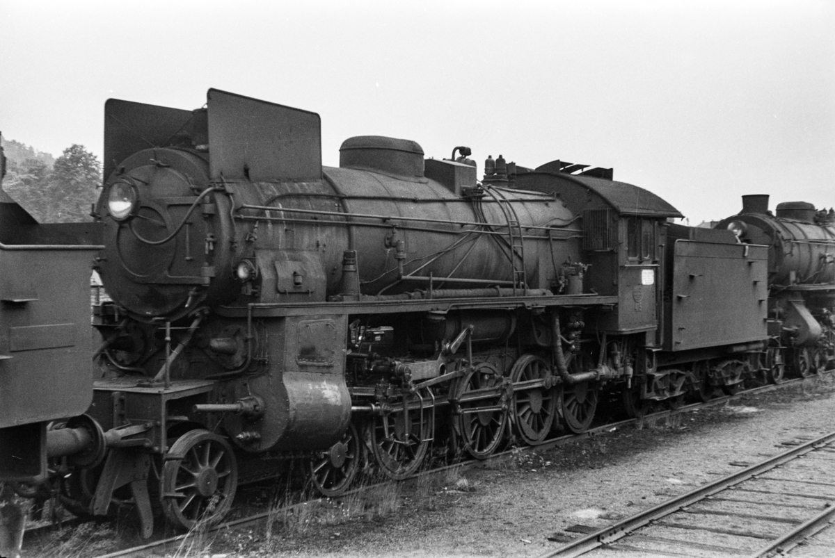 Hensatt damplokomotiv type 31b nr. 415 i Lodalen i Oslo.