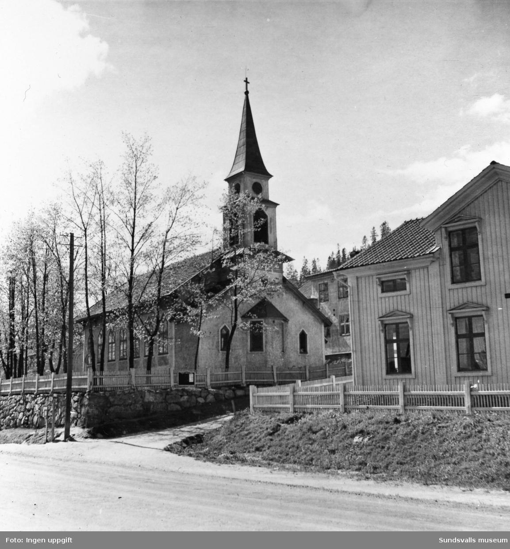 Svartviks kyrka, exteriörer.