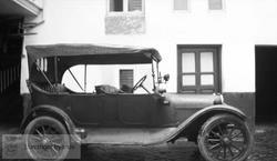Brannvesenets første bil