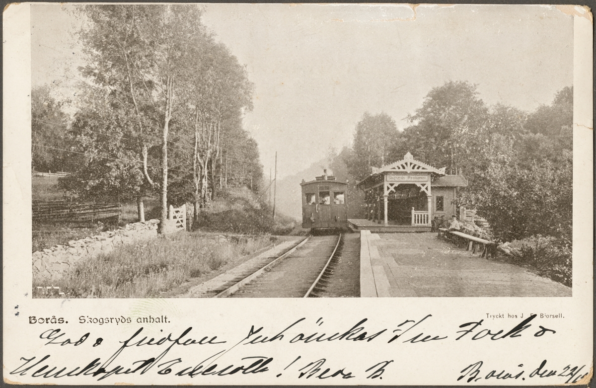 Anhalt i Skogsryd.