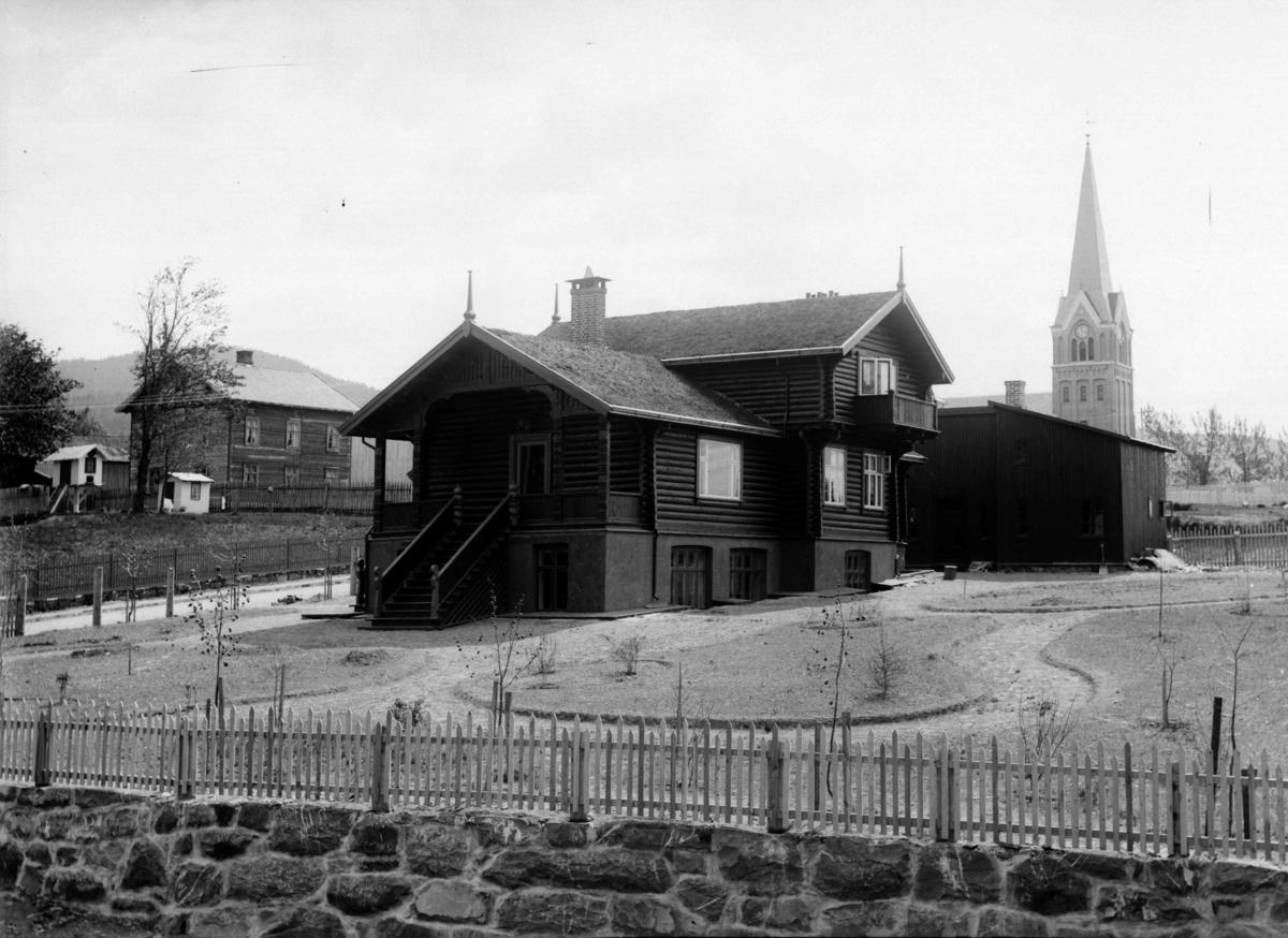 Filseth-villaen, etter flytting fra Stortorget til Skolegata 42