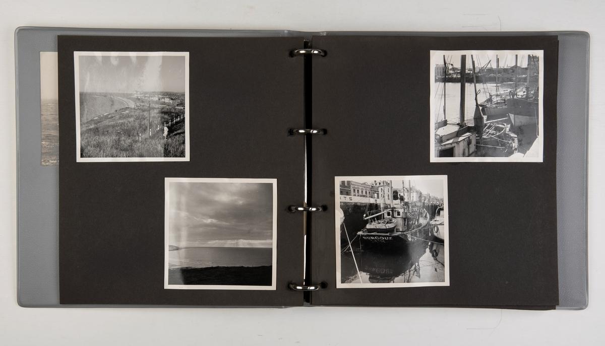 Album med fotografier fra ukjent sted (sannsynligvis Frankrike) i Europa