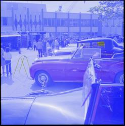 HMV Eng. veteranbiler på besøk 1971