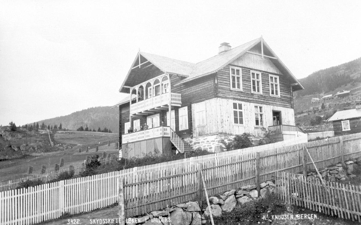 Skydsskifte Løken i Valdres ca. 1875.