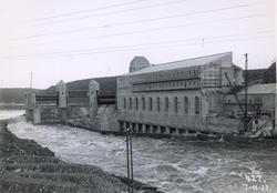Solbergfoss kraftverk, nedstrøms