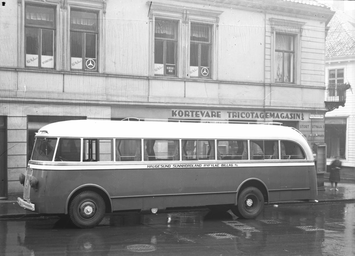 Rutebil fra Haugesund, Sunnhordaland, Ryfylke Billag a/s