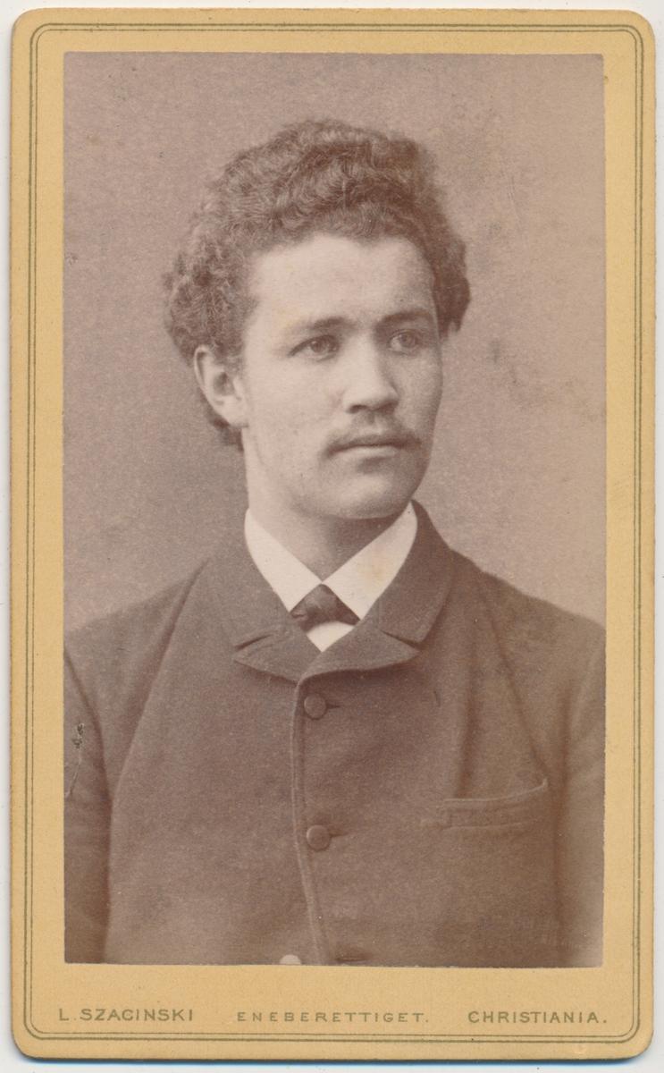 Skancke Portrett av ung mann, nevø av Theodora Skancke