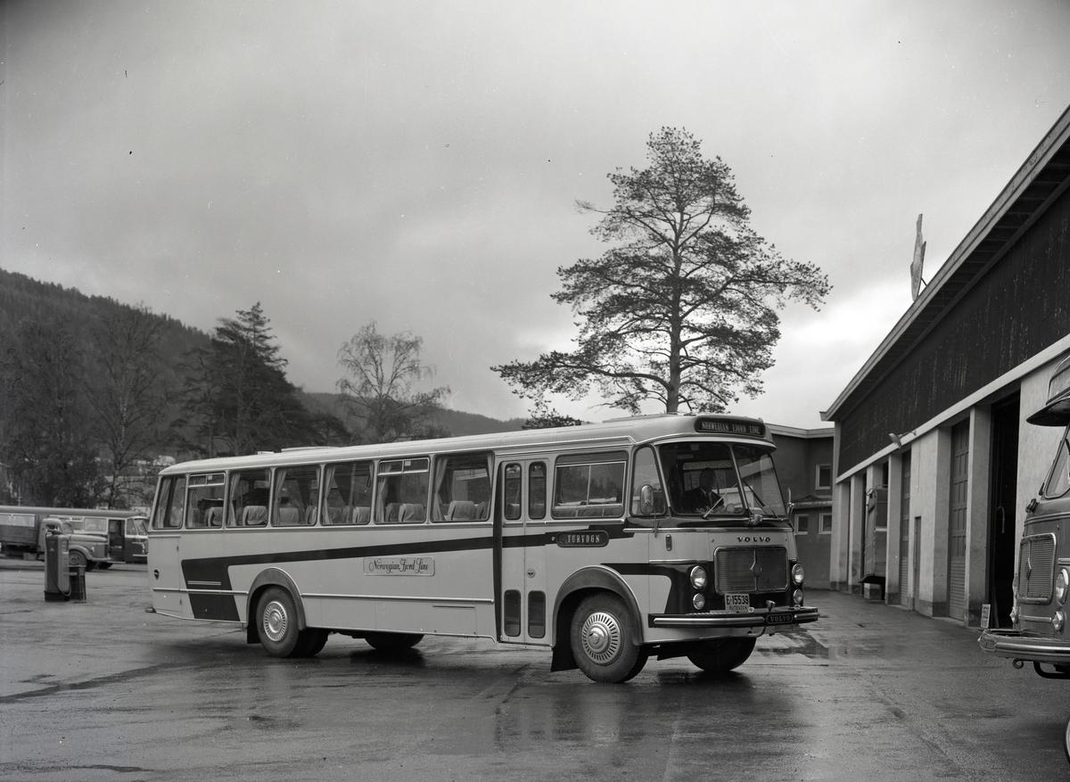 E-15539, turbuss tilhørende A.S Jotunheimen og Valdresruten Bilselskap.