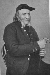 Portrett av eldre mann (faksimile fra bok)