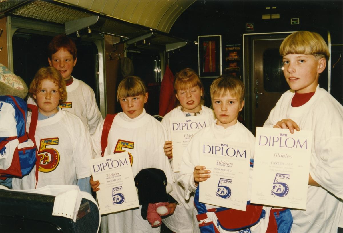 Kirkekretsen skol deltok i 5 PÅ