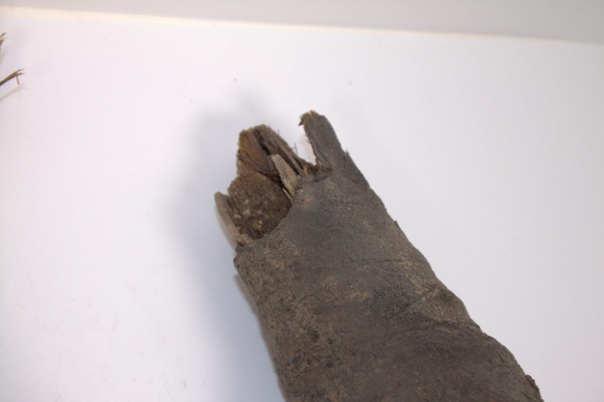 Føtter fra en mumie