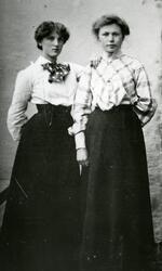 Henriette Kristensen og Eli Josefa Jørgensen