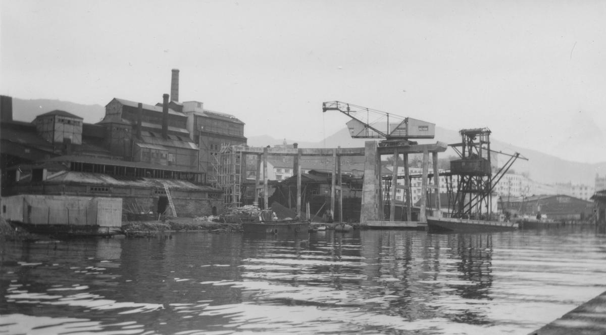 Bergen. Gassverket, 1954.