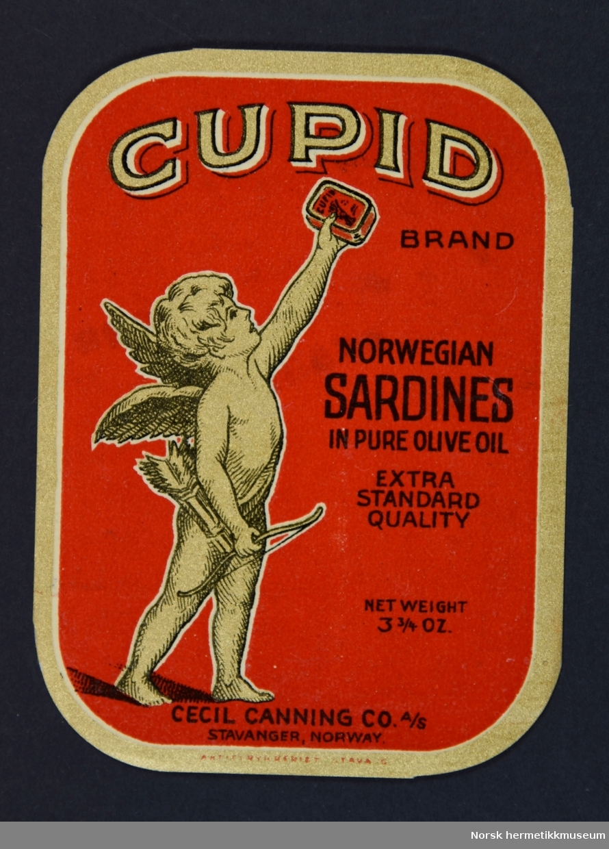 Stempel på bakside: Eilif Chr. Krogh Vaidenhusgt. 50 Stavanger