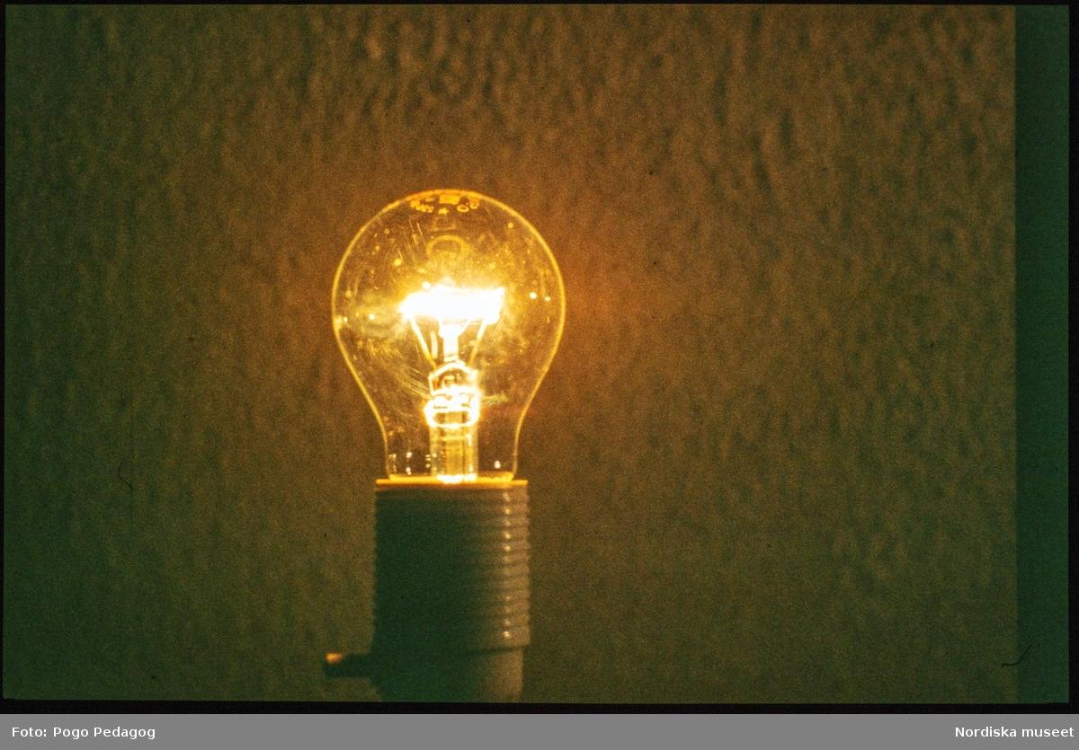 Elförsörjning, elförbrukning, belysning