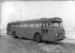 Buss fra Trondheim Bilruter. Eksteriør og interiør på Laderu