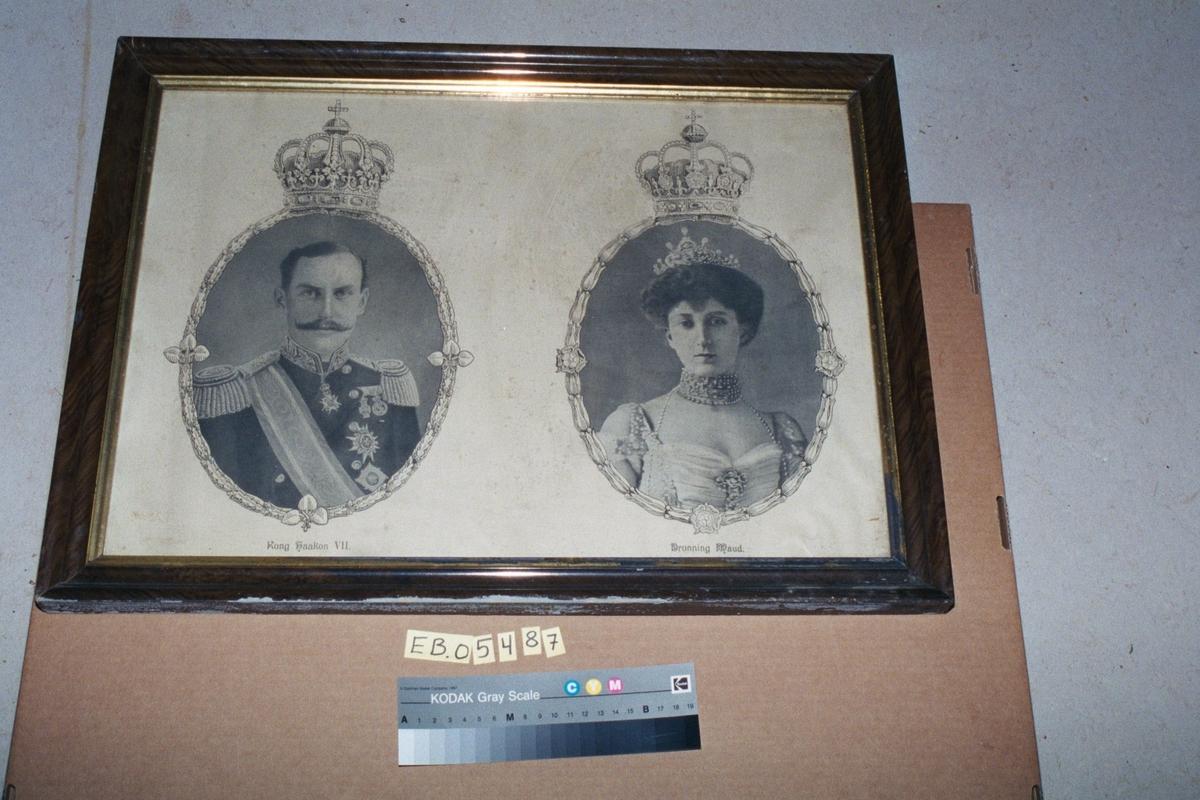 Kong Haakon VII og Dronning Maude