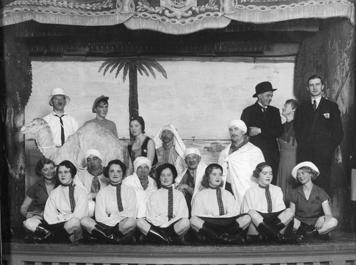 """Ski I.L. revy 1934: """"Gøy på landet""""."""