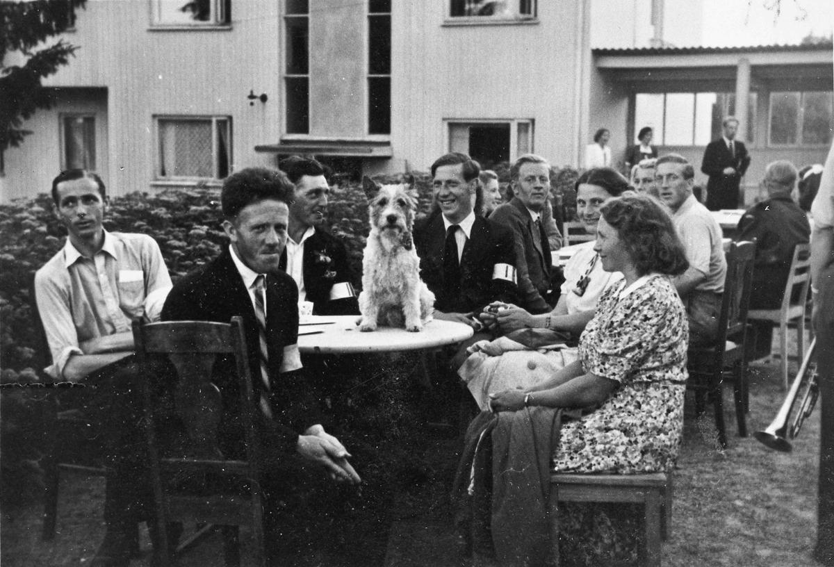 Folk fra Hjemmestyrkene.