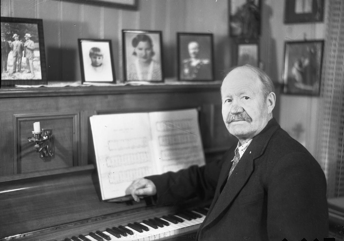 Hans Nielsen Johnsrud – bilde fra 1936.