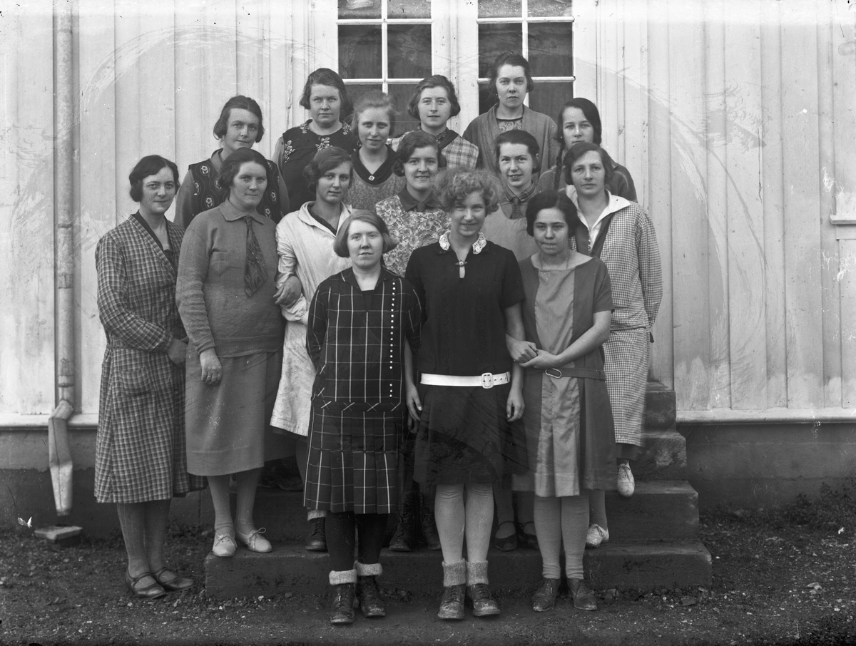 Veveskolen. 23.november 1928.