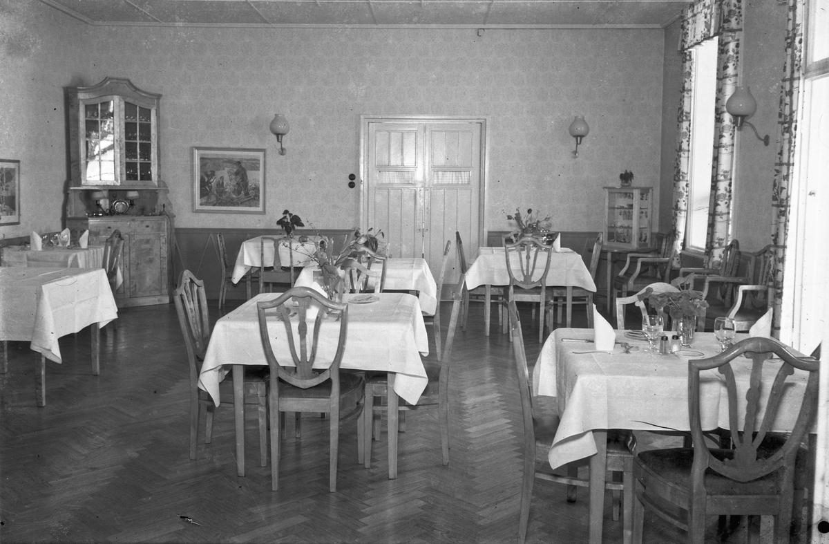 Spisesal på Jernbanehotellet.