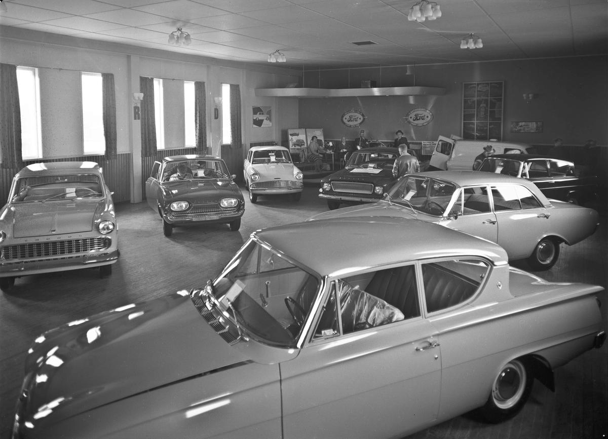 Fra Dal Autoimport i 1962. 25 års jubileum.