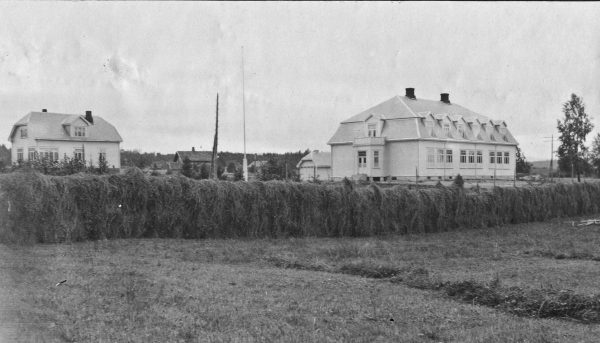 Råholt skole, Eidsvoll. 1911-12.