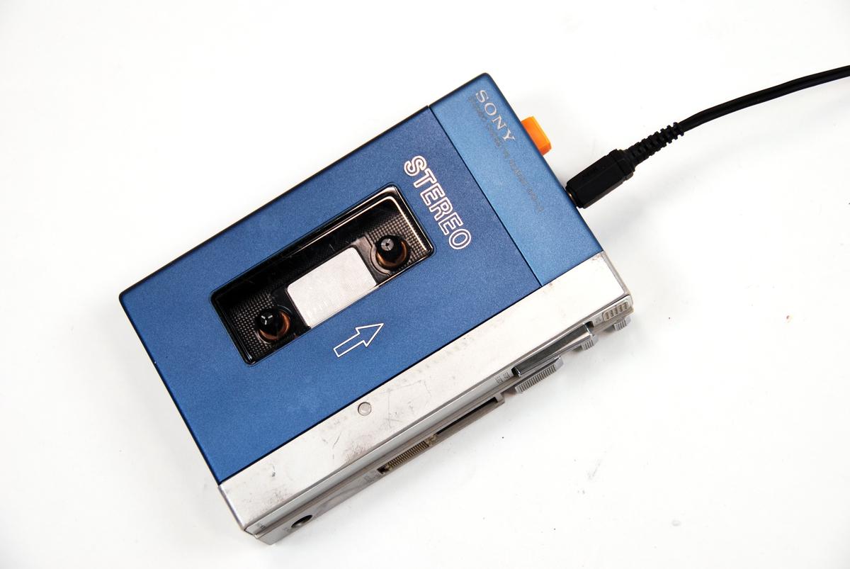 Kassettspiller Rockheim DigitaltMuseum