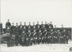 Soldater og befal ved Vardøhus Festning