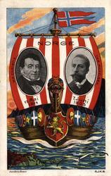 Postkort, gratulasjonshilsen.