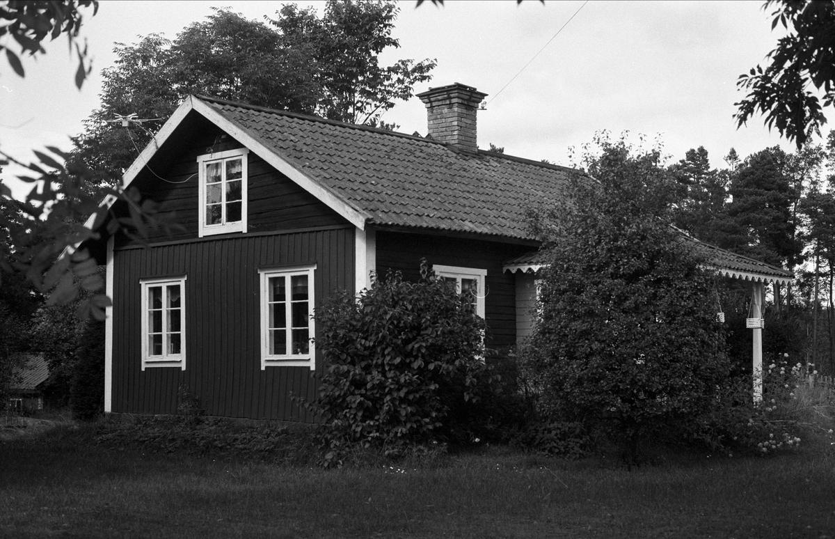 Bostadshus, Ellringe 1:19, Stora Ellringe, Almunge socken, Uppland 1987