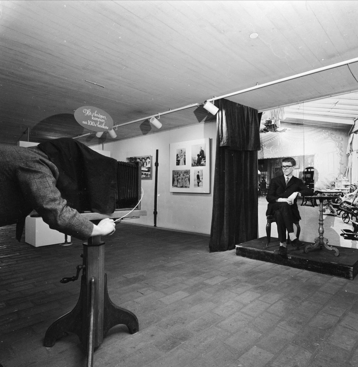 UNT:s unika fotoskörd visas på Upplandsmuseet, Uppsala 1966