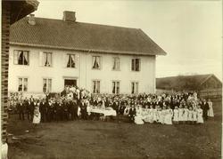 Bryllup på Molstad 1900