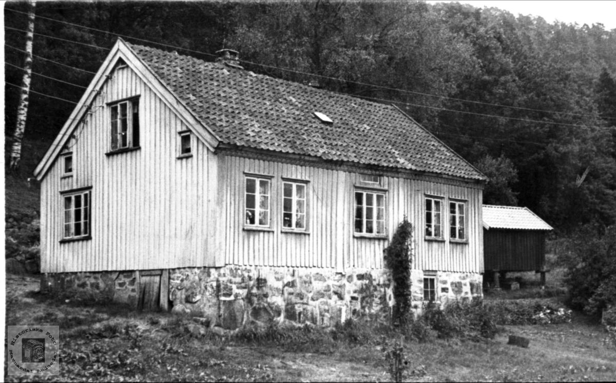 Huset på Brunvatne i Øyslebø.