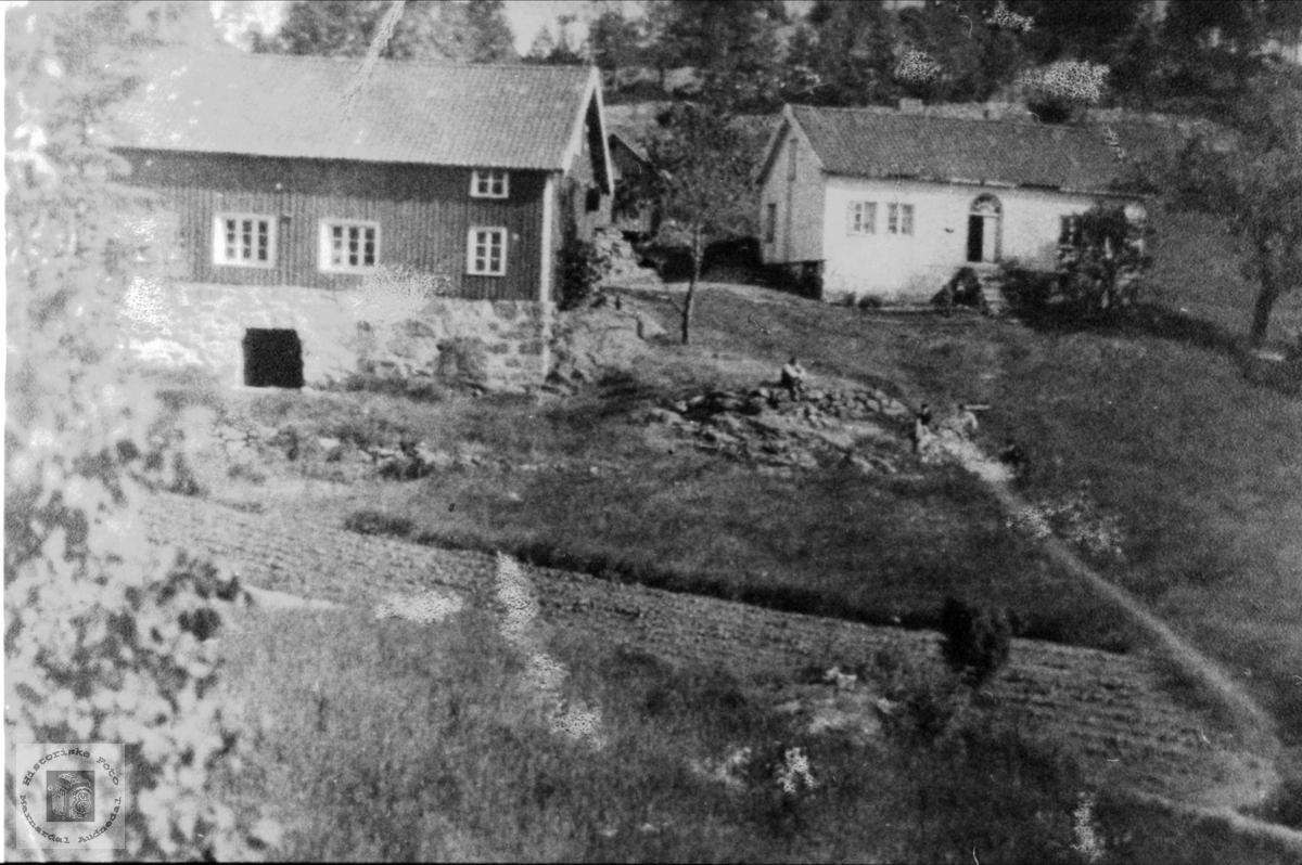 Vigemyr hus og uthus, Øyslebø.