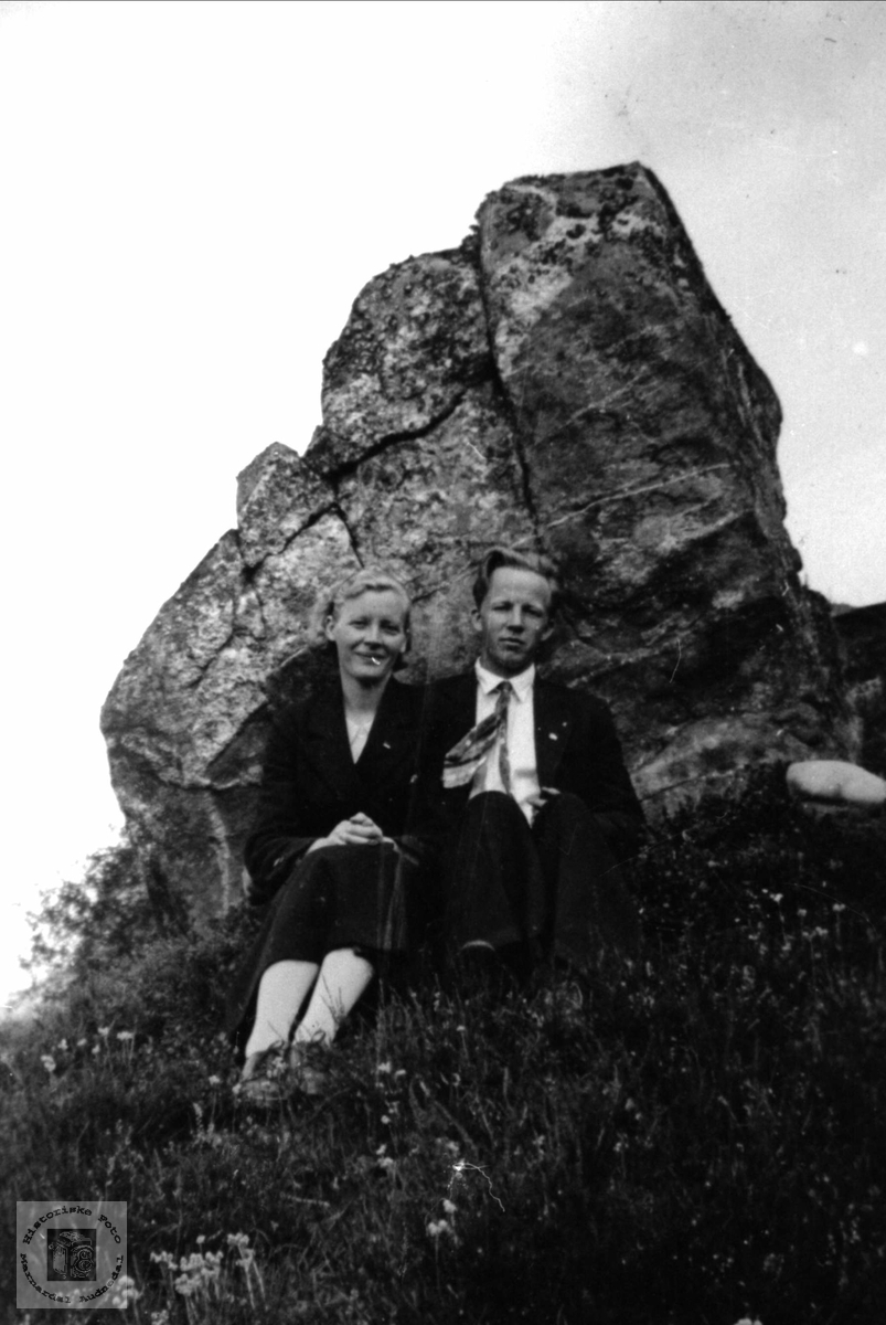 Ekteparet Gunhild og Karl Kolstad