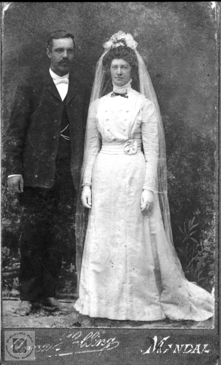 Ekteparet Lars og Berte Møll