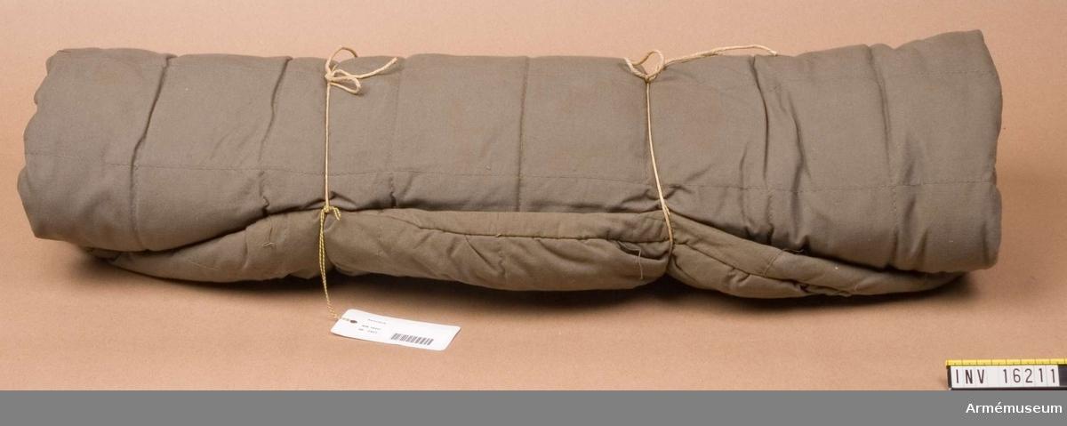 Sovsäck med renhårsstoppning.