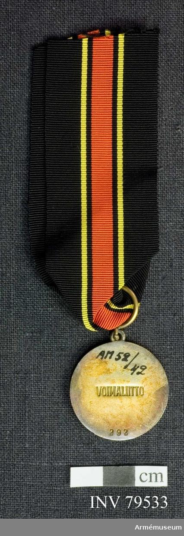 Voima medalj  Nr 292