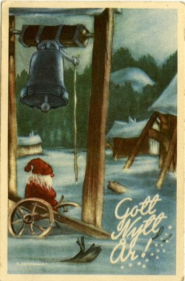 "Kort: ""Gott Nytt År!"""