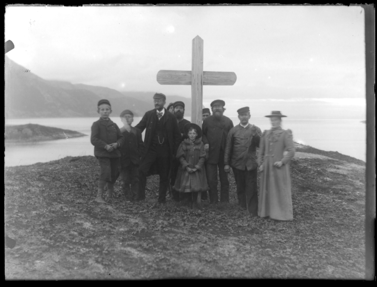 Kirkholmen, Bergsfjord 1895