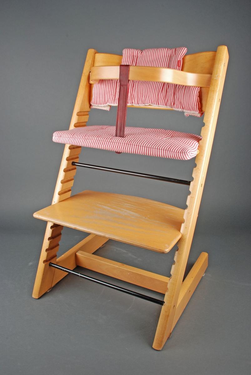 Setetrekk til stokke tripptrapp stol | FINN.no