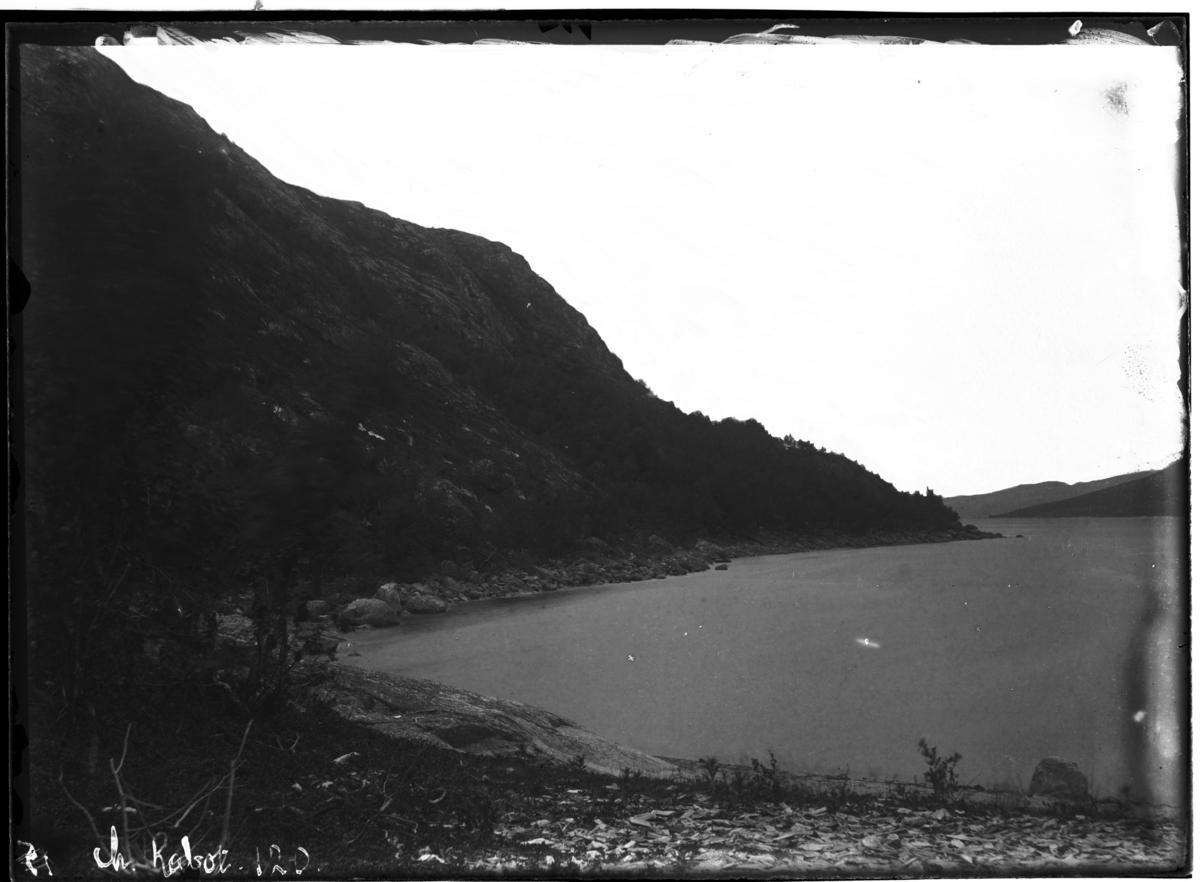 """""""Bøgfjord tæt fra Elvenes"""""""