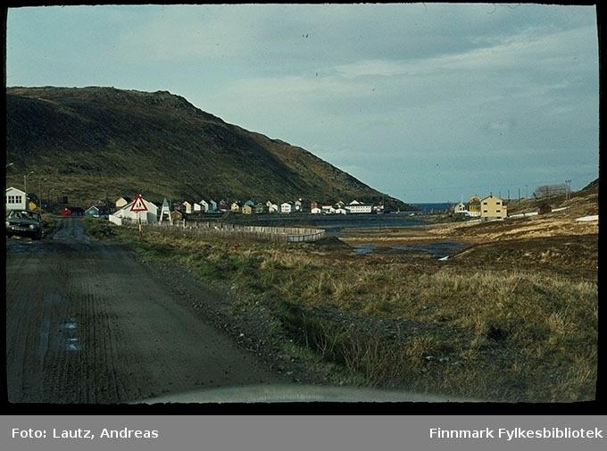 Skarsvåg i 1972. Verdens nordligste fiskevær, Magerøya ved Nordkapp.