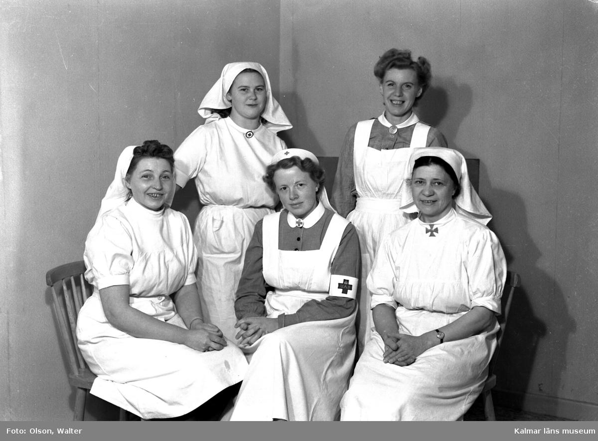 Sköterskor på Beredskapssjukhuset.
